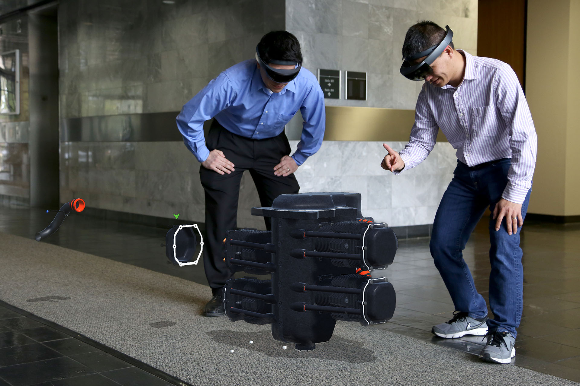 HoloLens - Jet Engine Visualization